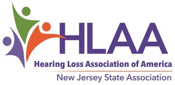 logo of hearing loss association of new jersey