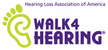 Logo and link - Walk4Hearing